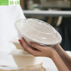 Easy Green reusable paper disposable japanese miso soup/fresh pasta takeaway packaging container bowl for soup with cover