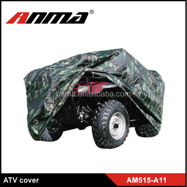 PVC camouflage retractable ATV car cover