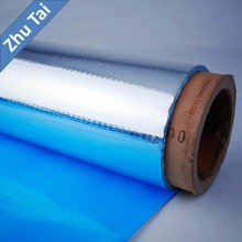 double side aluminum foil pet laminated roll film foil woven insulation for house wall roof