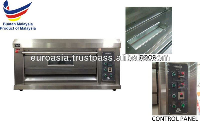 OVEN - ELECTRIC OVEN 1-DECK 2-TRAY (EA)
