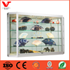 Modern glass aluminium display cabinet metal rack metal display stand portable shelf metal countertop display rack