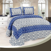 High quality full size brand name patch work bamboo bed sheets