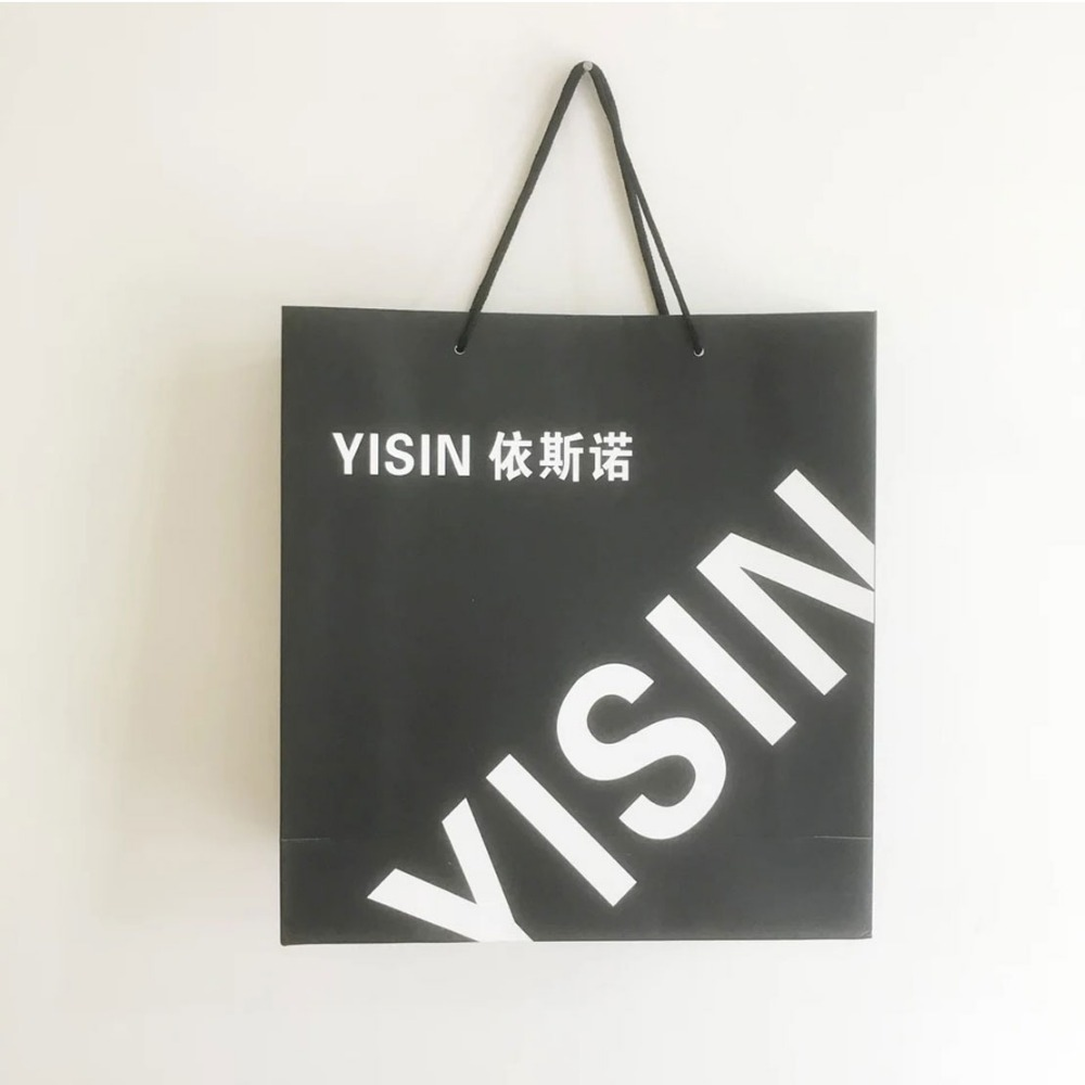 alibaba website factory directly price customized high end fashion tote shopping bag , paper bag for shopping