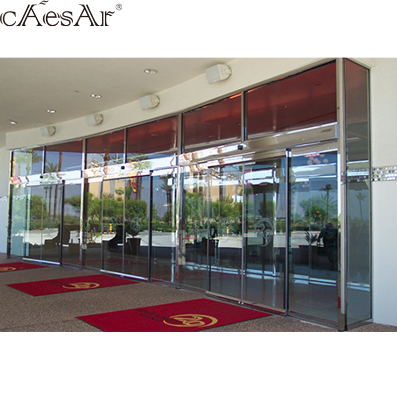 wood sliding door Malaysia price automatic door complete glass balcony for door automation