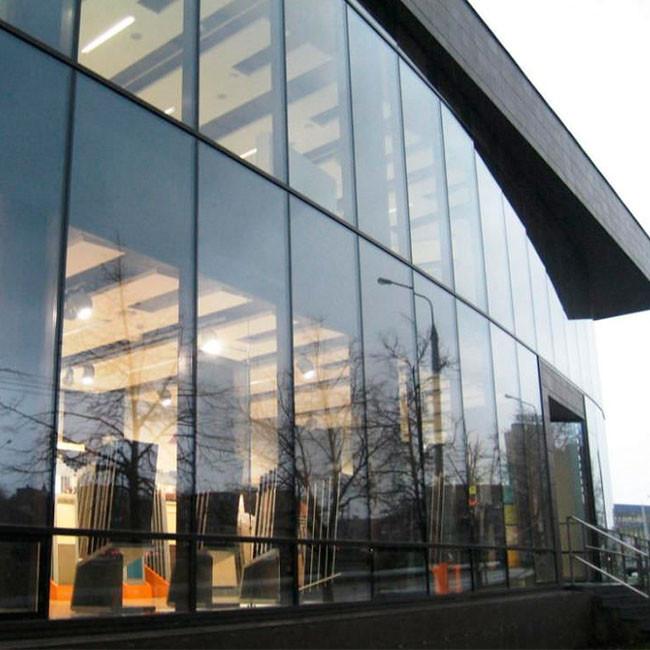 Splendid Building Design Aluminum Profile Glass Curtain