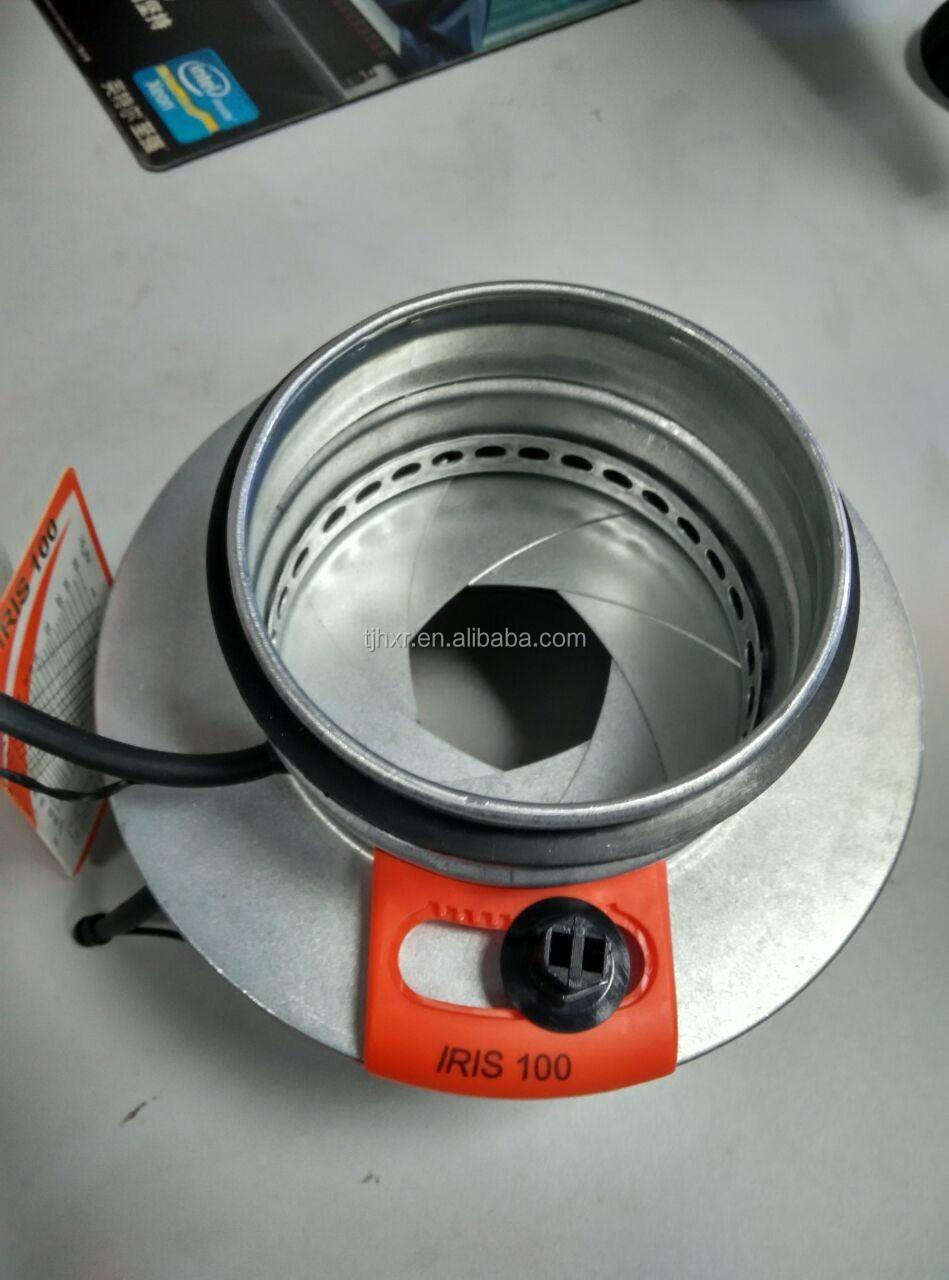 Hvac air duct manual balancing damper iris damper buy iris damper balancing damper manual Motorized duct damper