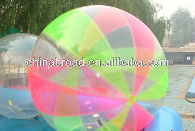2012 TPU resin waterball for walk on water(100% pure Tpu)