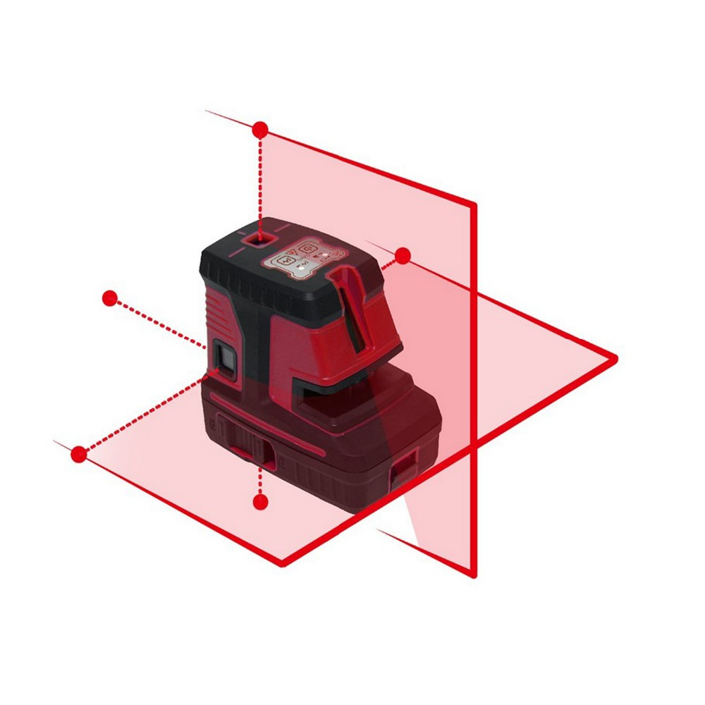 CT500 2 lines 5 dots 1h1v5d Red Beam Cross Line Laser Level