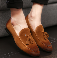 up-1102r Large Size Men Classic Shoes 2018 Wholesale Tassel Dress Shoes
