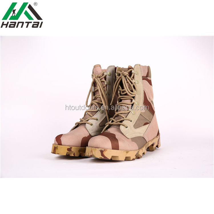 2017 Hantai high upper Altama three color desert boots military