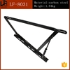 adjustable shelf bracket black hydraulic hinges for sofa bed