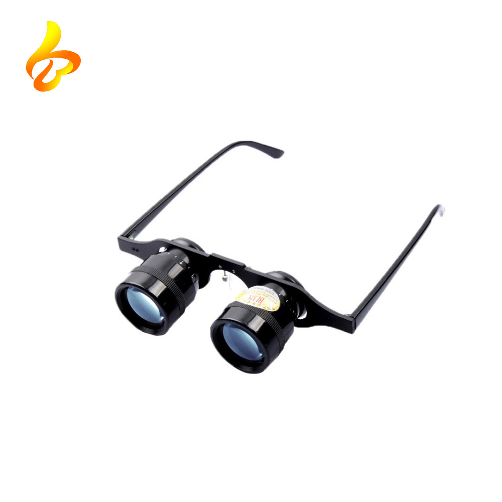 10x34 Portable High Definition Glasses Fishing Ultralight Hand Lightweight Binoculars Glasses for Fishing Hunting Bird Watching