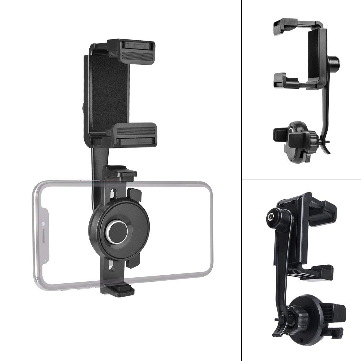 iSaddle CH205 Car Rearview Mirror Mount Holder Bicycle Handlebar Video Recorder Mount Holder for Car DVR Dash Cam G1W G1WH.