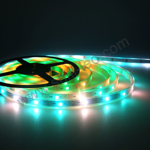 Rgbw programmable rgb rope lighting led strep light ip65 dimmer bulk color changeable 10mm width led strip