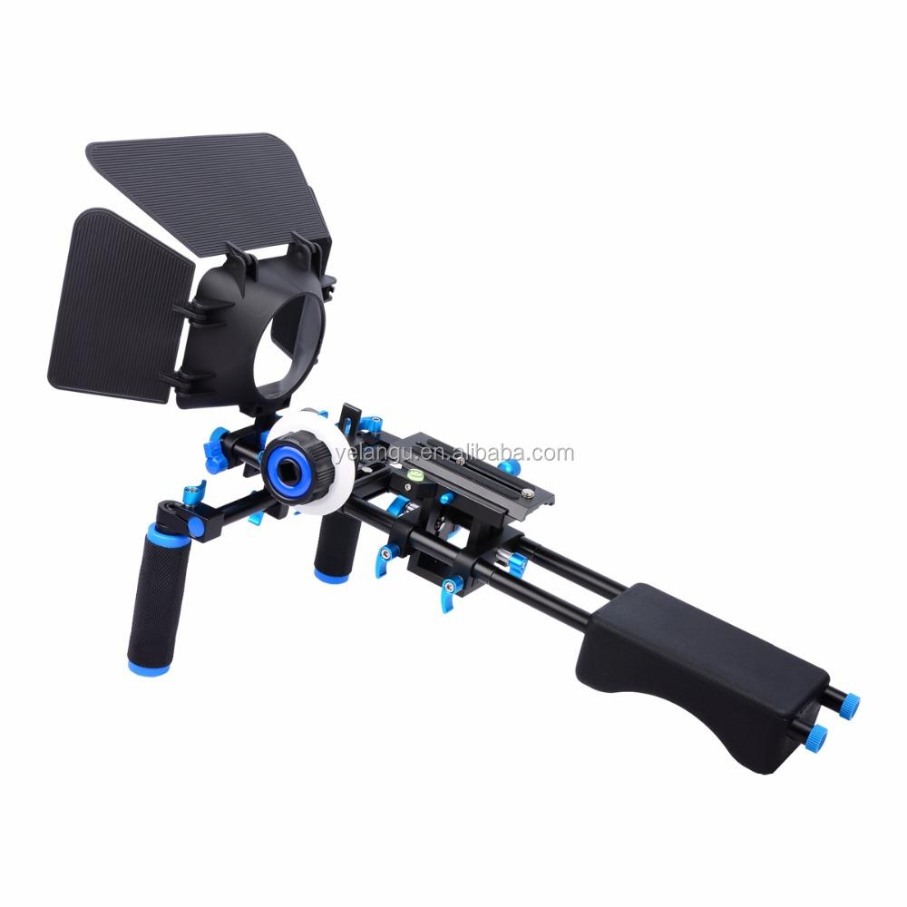 YELANGU Professional DSLR Shoulder Rig Mount Kit For Camera Camcorder