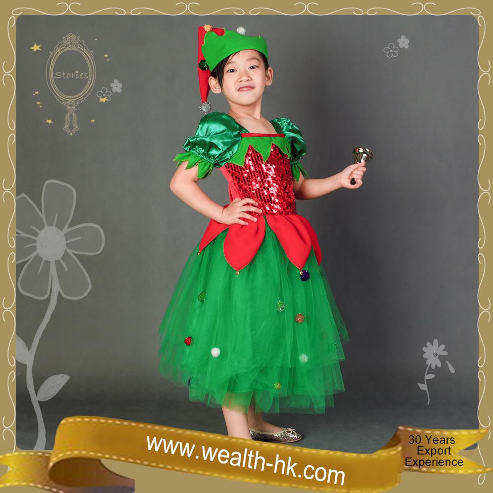 carnaval de navidad elf dress