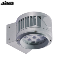 Waterproof wall lamp AC220V/110V IP65 9W 12W 15W 18W rgb dmx 512 led light outdoor wall
