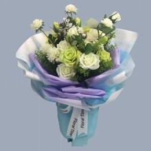 Clear Flower Wrapping Paper Aprildearest