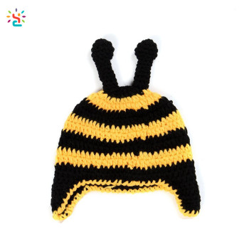 0326a1dae0b Custom Knit Baby Hat Photography Props baby beanie animal funny Organic  Cotton Beanies Children cap Handmade