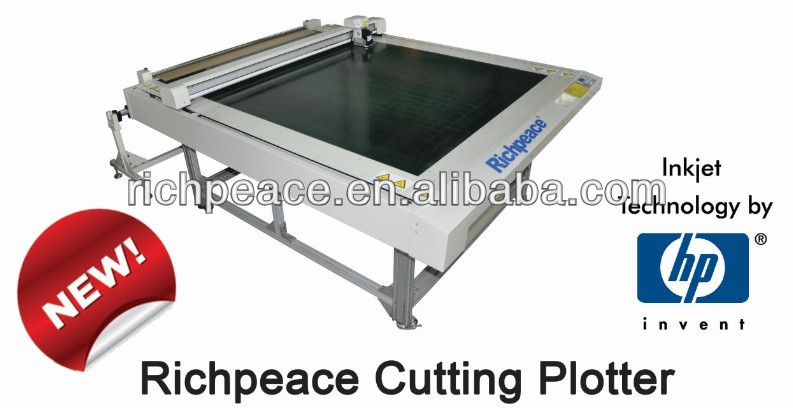 Richpeace Apparel/ Garment Pattern Cutting Plotter