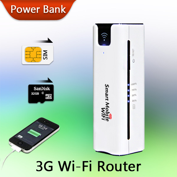 Новое поступление! Мобильный портативный многофункциональный мини беспроводного зарядное устройство Battary зарядное 3 г WiFi маршрутизатор с SIM карт памяти