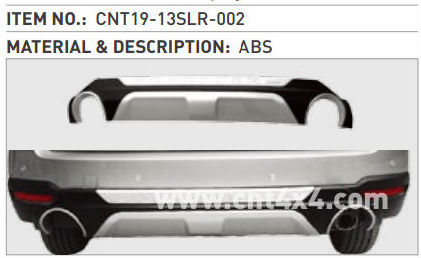 ABS Rear Bumper Guard Auto Parts Japan Car FORESTER 2013+