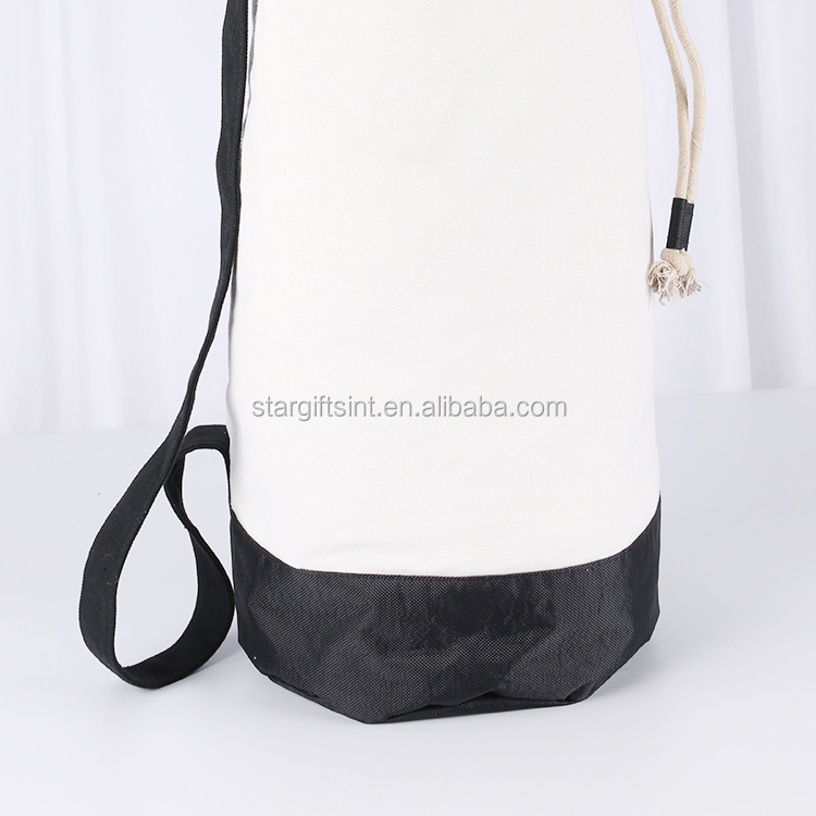 Wholesale Custom Travel Drawstring Dirty Canvas Laundry Bag