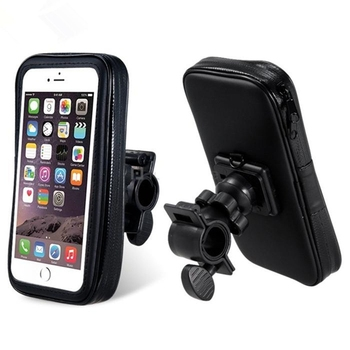 Bike Phone Holder with Waterproof Bag for 5.5~6.6  Inch Smartphones