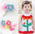 10pcs Yiwu Factory Stock Sale Flower Kids Hairpins Infant Girl Cute Hair Clip Baby BB Duck