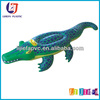 Inflatable alligator rider,Inflatable kids ride on toy crocodile for water and beach