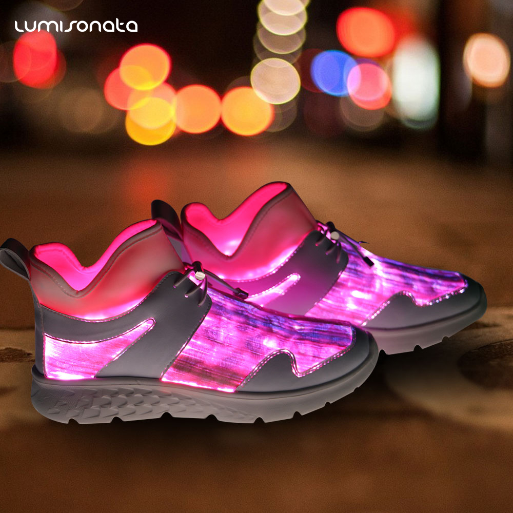 led Charging light up shoes Colors 7 USB Flashing In7Sw