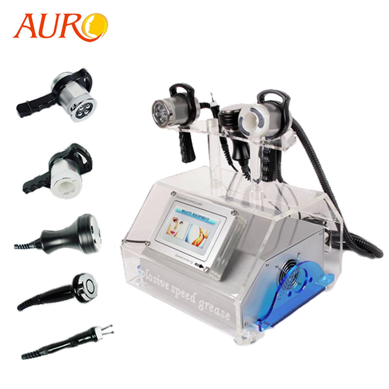 Au-46 Guangzhou Factory Radio Frequency RF Machine For Face and Body /40Khz Cavitation Weight loss Equipment фото