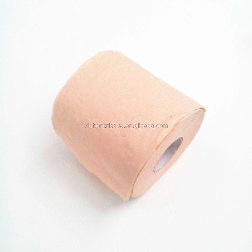 Natural Color Tissue Toilet Rolls Bathroom Paper Buy