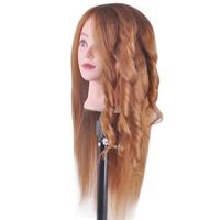 Top Quality Hairdresser Training Mannequin Head Wig Mannequin Head