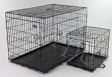 Wire Folding Dog Kennel / Pet Cage