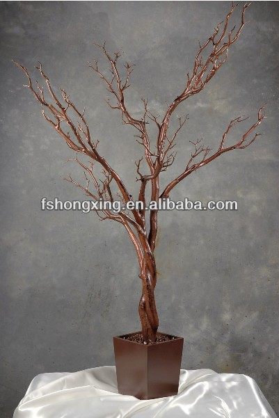 Ft103 High Simulation Can Bend Stretching Faux Manzanita Tree For