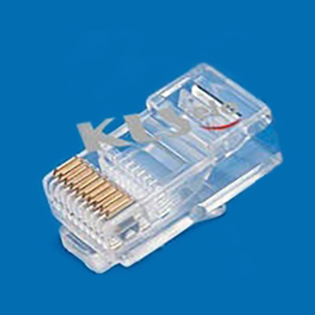 Cat6 metal shielded RJ45 plug connector 8P8C modular network plug connectorWL