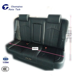 CTZY031 Auto Double Seat Adjustable Leather Luxurious Back Row Power Seat With Massager
