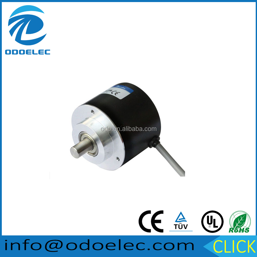 Diameter 50mm shaft type incremental rotary encoder