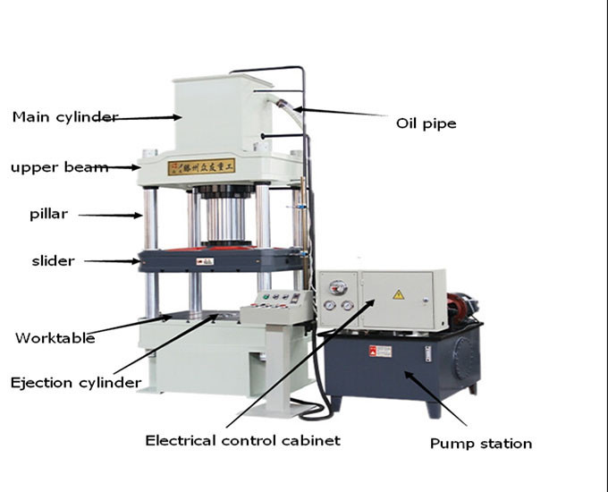 Hydraulic Press Machine 5 Ton Hydraulic Press Machine 100