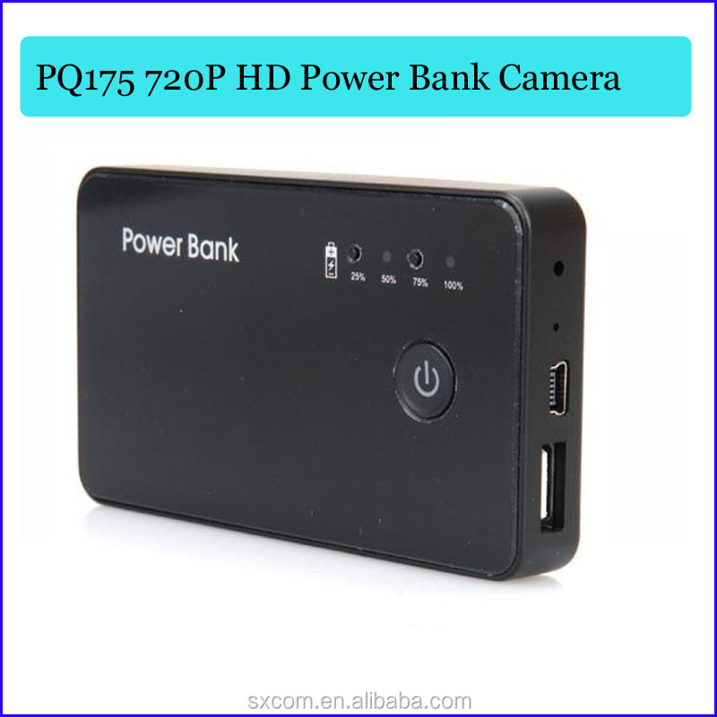 Hd 1280*720p Power Bank Spy Camera Backup Powers Hidden Camera ...