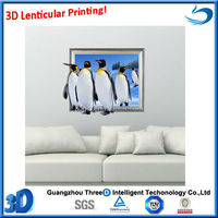3D Pictures decorative wall posters lenticular 3d printing