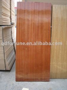SAPELI UV POLISHED PLYWOOD FLUSH DOOR