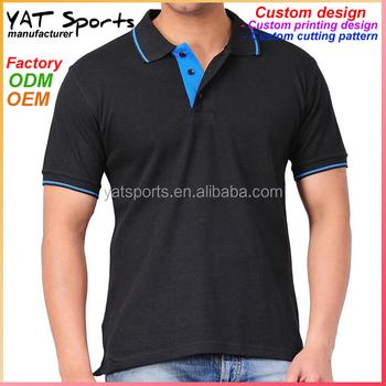 43640945b Custom logo printing Running clothes men dri fit polo golf shirts sport t  shirt