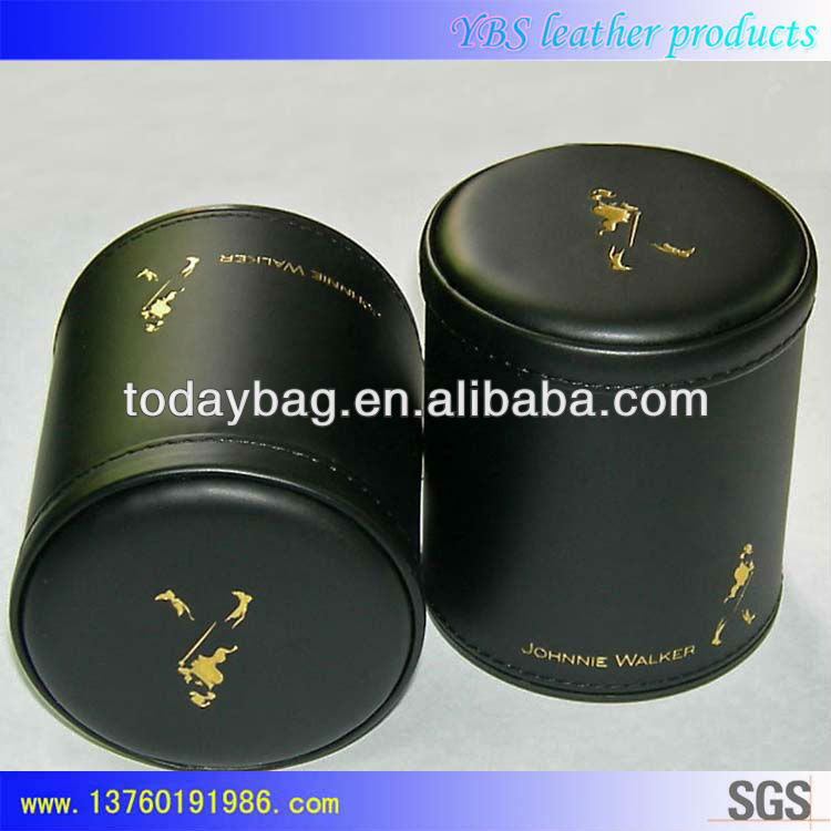 Johnnie Walker Leather Dice Cups