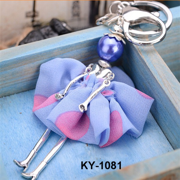 Wholesale Cheap Cute Doll Girl's Keychain For Souvenir Items
