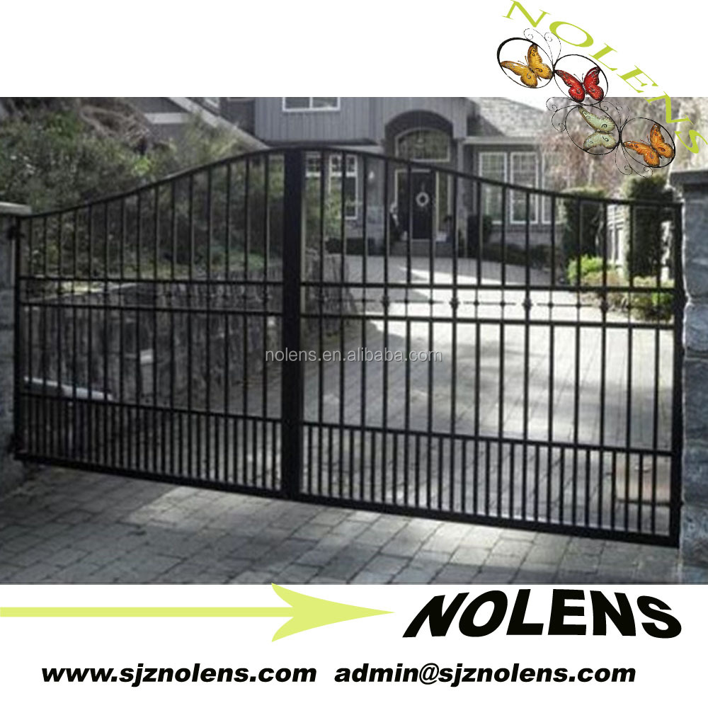 wrought iron galvanized electric motor for sliding gates