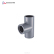 Industry use high pressure water supply plastic pipe fitting sch 80 pvc female tee