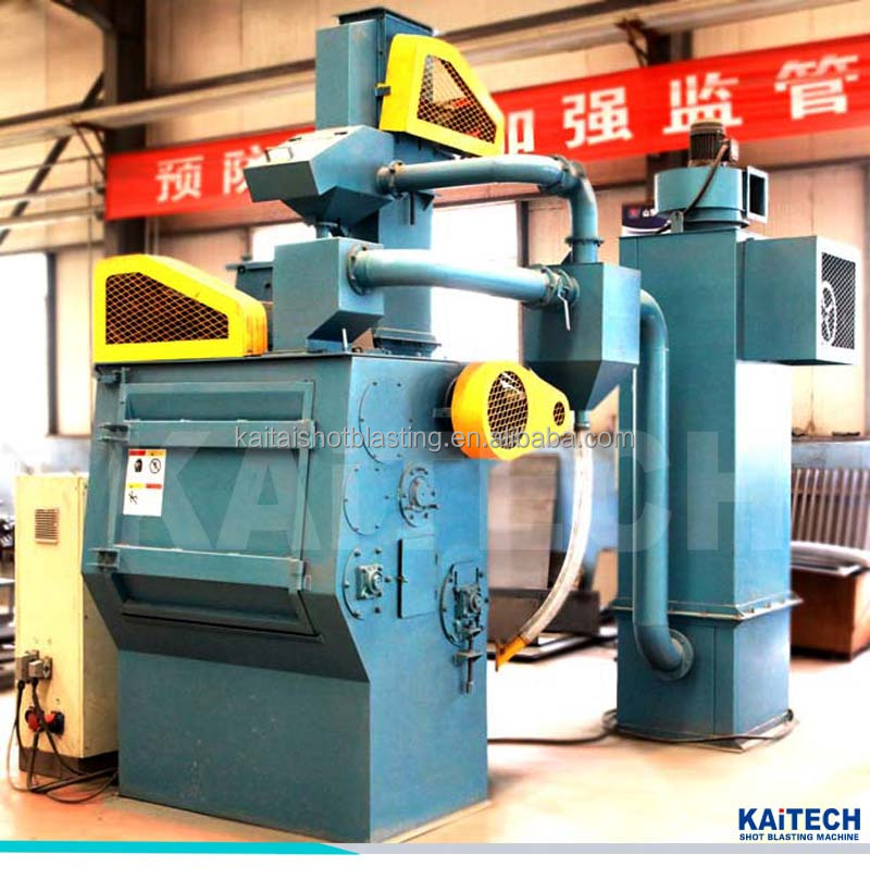 Q326 Tumble Belt Abrasive Shot Blasting Machine Blasting Equipment