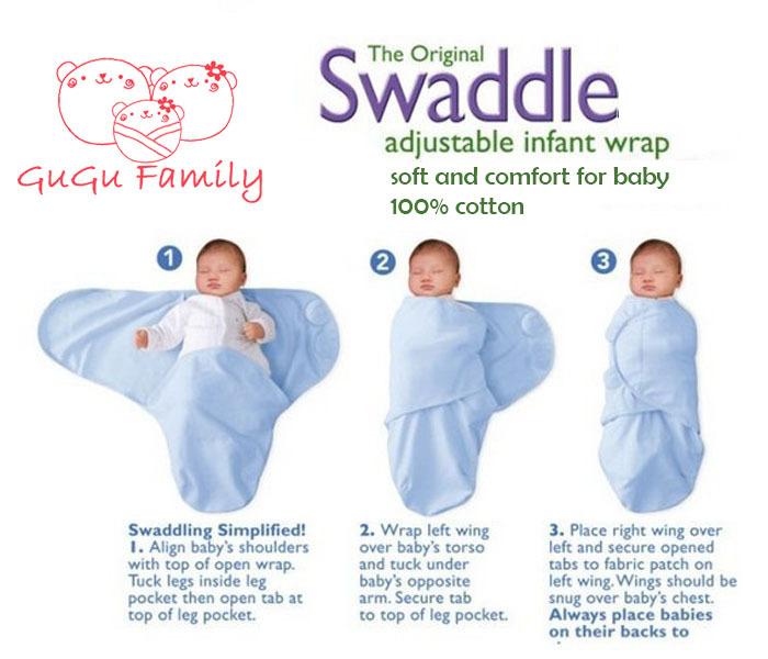 711b55b2c summer newborn baby swaddleme parisarc 100% cotton soft infant ...